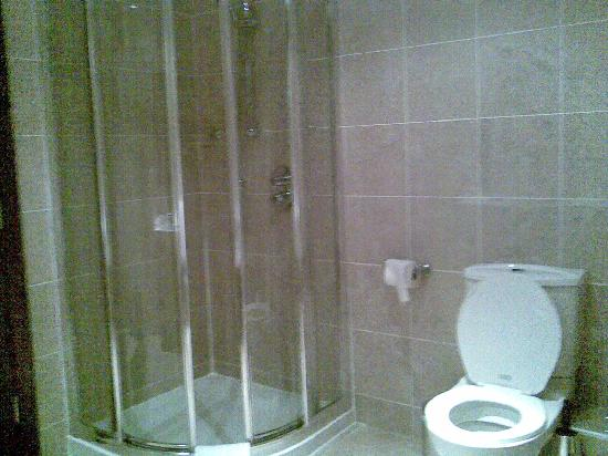 Cavan Crystal Hotel: shower