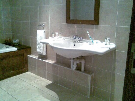 Cavan Crystal Hotel: sink