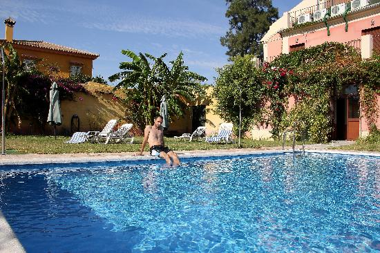 Hotel Pinomar: charming backyard