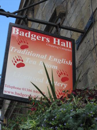 Badger's Hall tea room