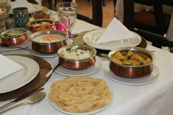 Delicious authentic Indian food at Ganesh Utsav, Vysoka 2/A, Bratislava,  Slovakia