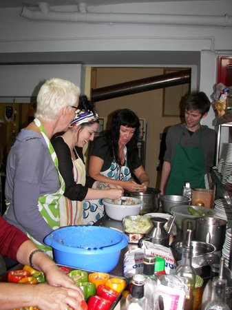 Cooking lessons at Vegera