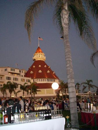 Hotel del Coronado: Night time
