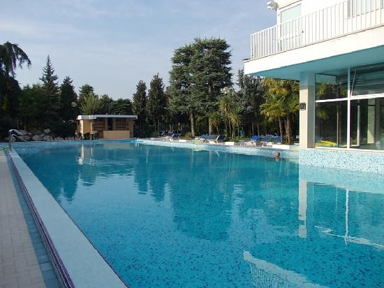 Hotel Terme Metropole: One of the hot springs swimming pool