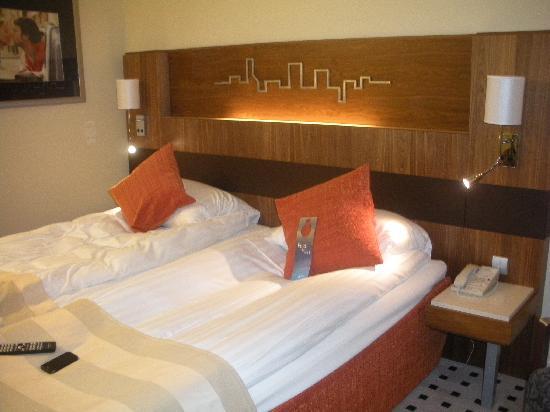 Radisson Blu SkyCity Hotel, Arlanda Airport: Our room