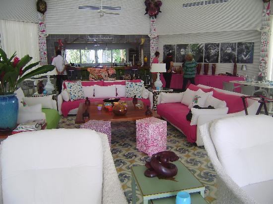 El Otro Lado: Comedor/bar /sala de estar