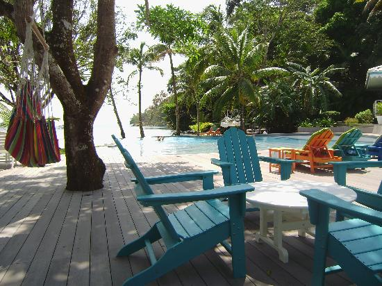 Portobelo, Panama : Infinity pool