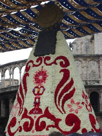 Basilica de la Virgen de los Desamparados: La Virgen de los Desamparados, Valencia.