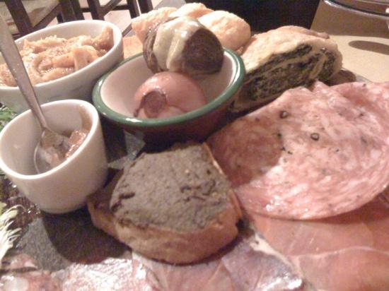 Osteria Pinchiorba: antipasto toscano