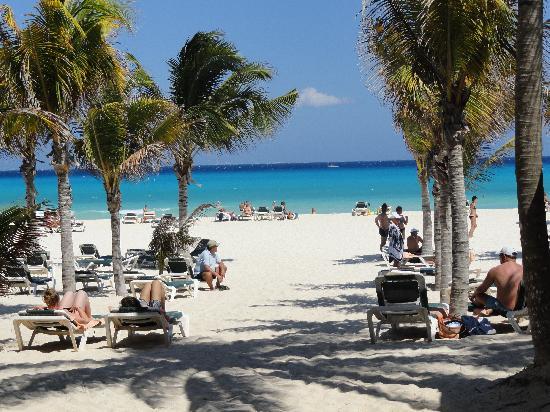 ClubHotel Riu Tequila: ingreso al la playa