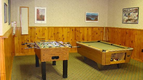 Best Western Adirondack Inn: Game Room