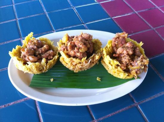 El Coqui Here Restaurant: Tostones rellenos