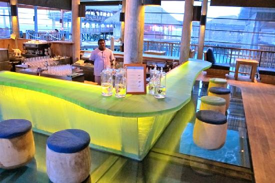 Six Senses Laamu: Chic, Welcoming Bar
