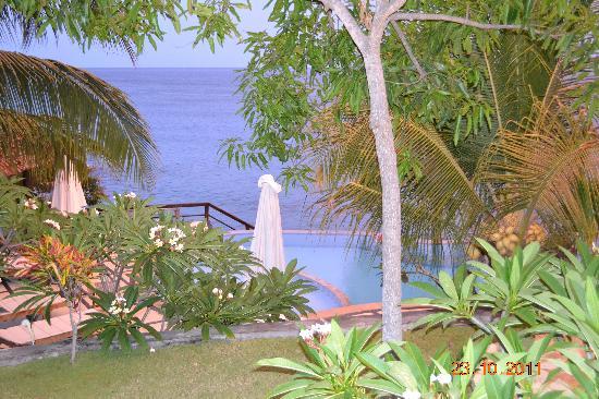 Batu Belah: View from our bungalow