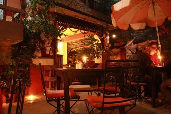 Gaia Restaurant Coffee By Night