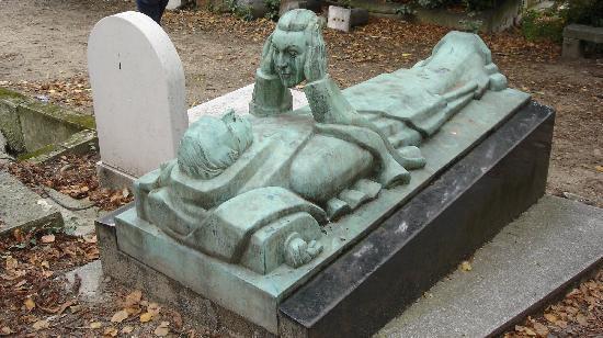 Cimetière du Père-Lachaise : Cemetery Grave
