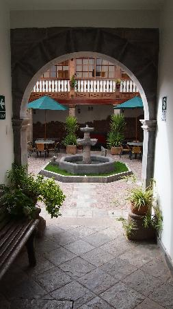 "Hotel Rumi Punku: one of the many ""courtyards"""