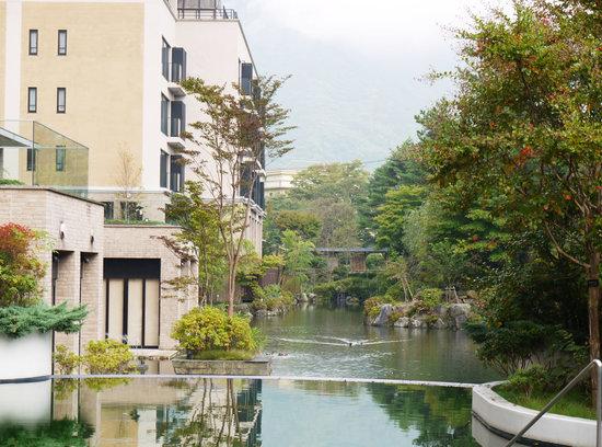Hotel Harvest Hakone Koshien: 庭園