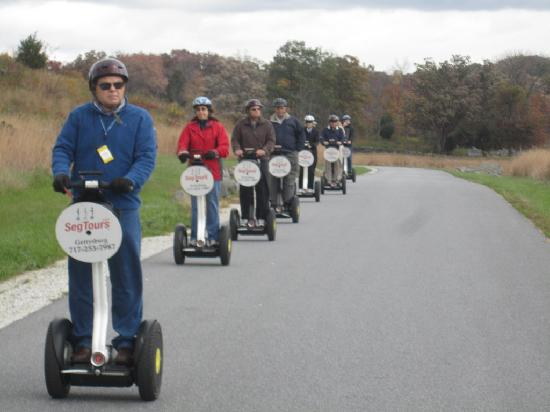 Segway Tours of Gettysburg (SegTours, LLC): Enjoying the ride