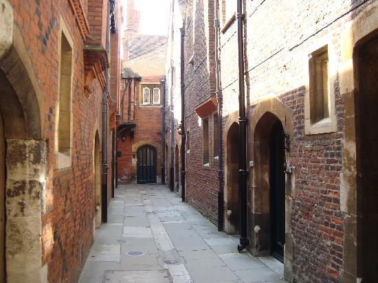 Hampton Court Palace: fishmonger & produce storage area