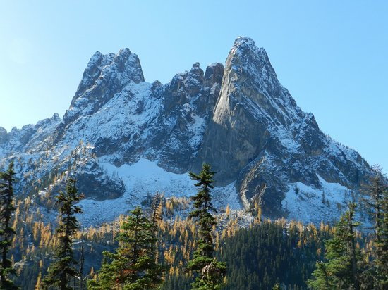 Parque Nacional North Cascades, WA: Washington Pass