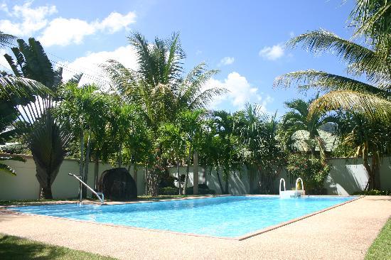Phuket Lotus Lodge: Pool and tropical gardens