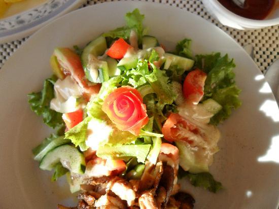 Namuka Bay Lagoon Resort: Lunch/Dinner