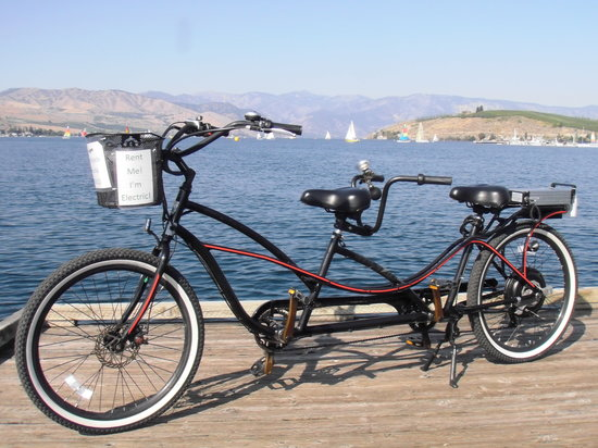 Chelan Electric Bikes: Our electric tandem.