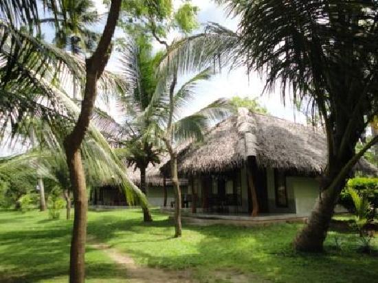 The Cabanas In The Gardens of Lagoon Paradise Beach Resort.