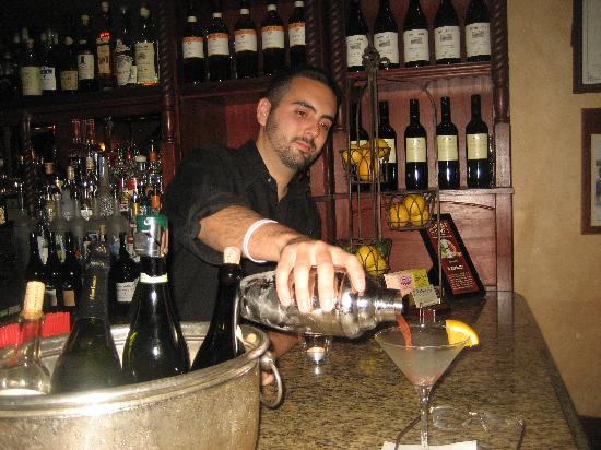 Il Barilotto : A Negroni, made perectly by Steven