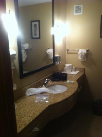 Red Lion Inn & Suites Kennewick Convention Center : nice bathroom