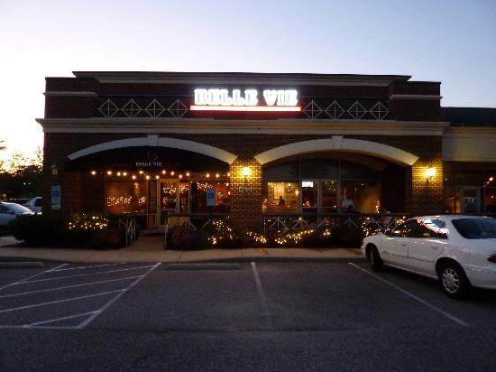 Belle Vie European Bistro: The restaurant