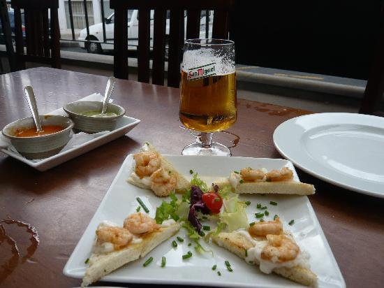 Taberna De Nino: Garlic prawn toast