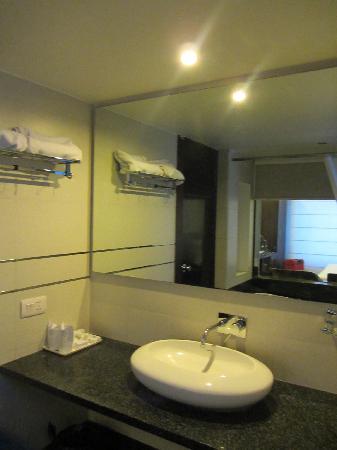 Hotel Le Roi: wash area