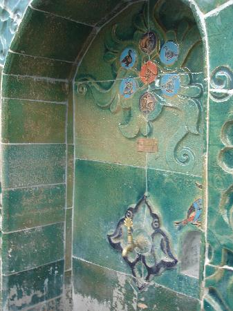 Iznik : Une fontaine en céramique