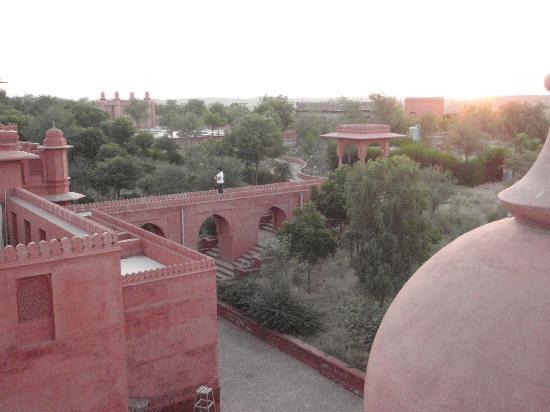 Hotel Gaj Kesri: vue du toit