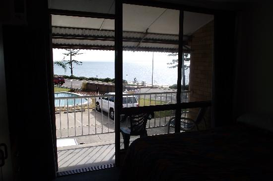 Redcliffe, Australia: From the front top rooms.
