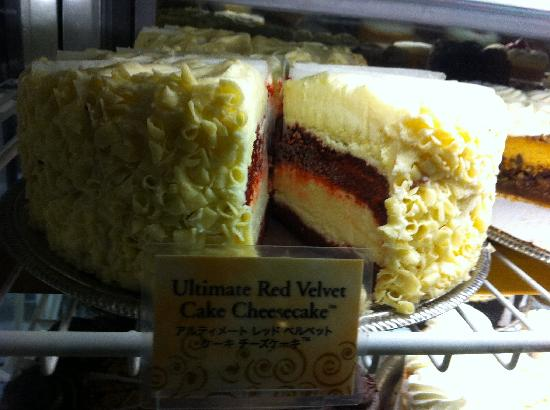 The Cheesecake Factory: The Red Velvet cheesecake
