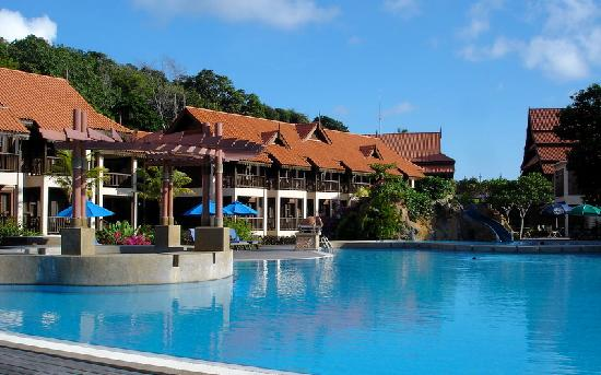 Laguna Redang Island Resort: swimming pool with jacuzzi