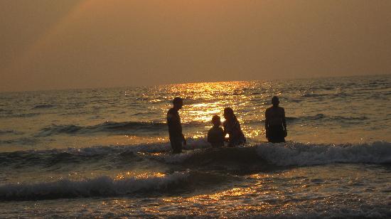 Sea View Tarkali Resort: Tarkarli beach