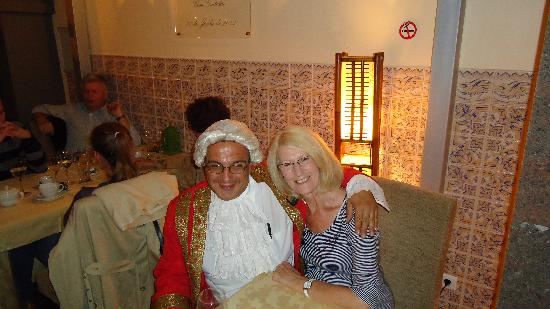 Restaurante Mozart: SIMON AND MY WIFE