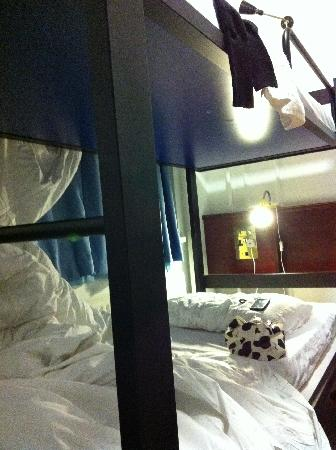 Equity Point London Hotel: Bunk bed (the only picture I took)