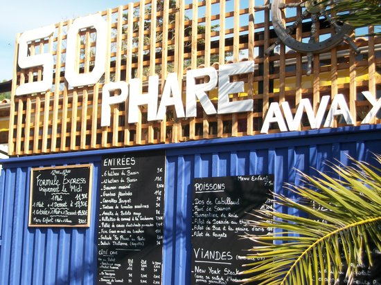 So Phare Away : La carte