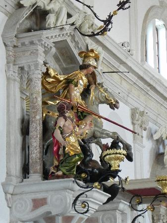 Piran - St. George's - Statue of St. George