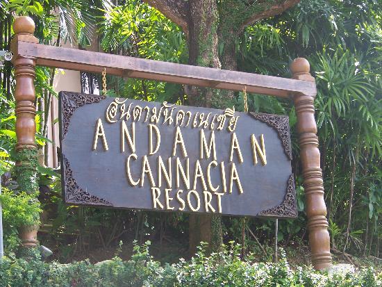 อันดามัน แคนนาเซีย รีสอร์ท แอนด์ สปา: Resort Entrance