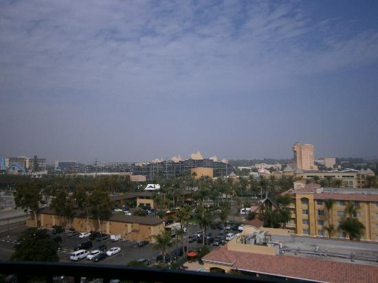 Sheraton Park Hotel at the Anaheim Resort: View from our balcony