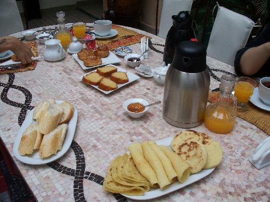 Riad Anabel: Breakfast 1