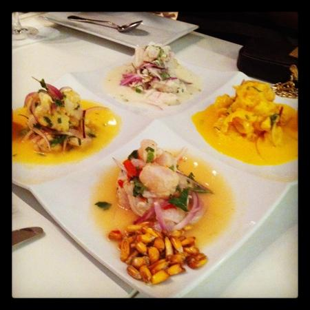 Kyojin Japanese Buffet: Ceviche - 4 ways to indulge yourself