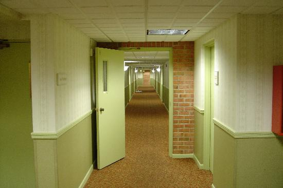 BEST WESTERN Radford Inn: Interior corridors