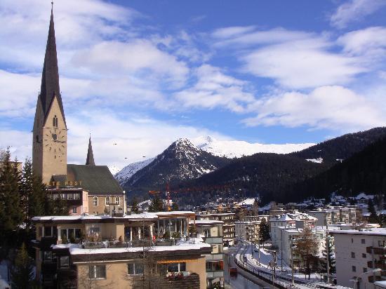 Hotel Cresta Sun: Il centro di Davos
